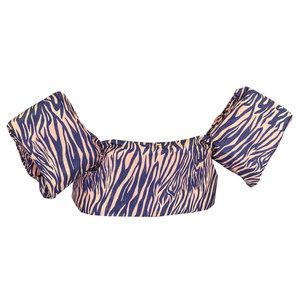 08 HappySwimmer - Zwembandjes voor peuters en kleuters met Zebra print